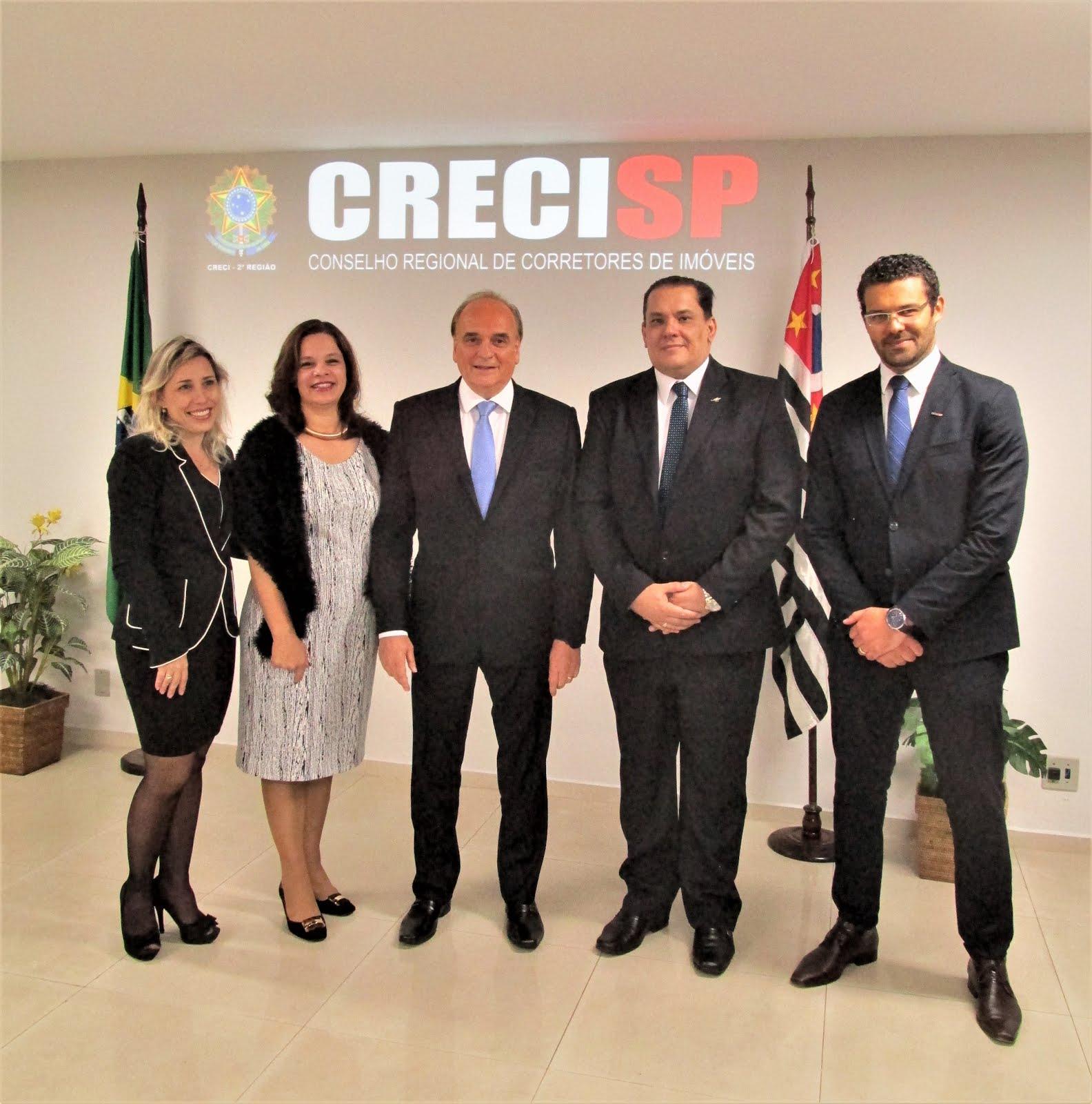 INAUGURAÇÃO DO CEJUSC NO CONSELHO REGIONAL DE CORRETORES DE IMÓVEIS-CRECI/SP EM 16.05.2017
