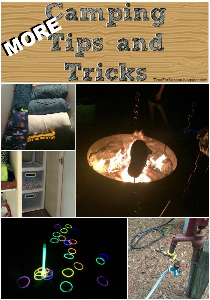http://timeforseason.blogspot.com/2014/07/more-camping-tips-tricks-camp-hacks-helpful.html