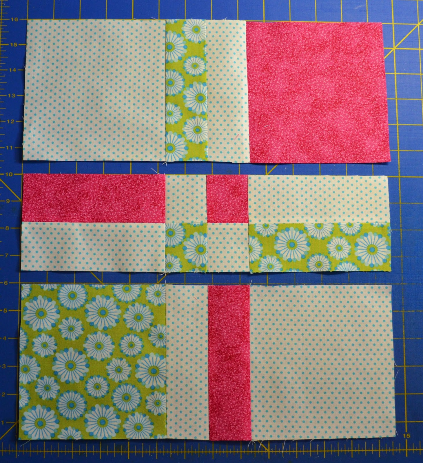 Chock-A-Block Quilt Blocks: Disappearing 4-Patch : disappearing 4 patch quilt patterns - Adamdwight.com
