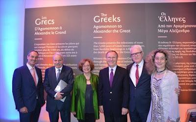 Καναδάς: Εντυπωσιακά εγκαίνια της έκθεσης «Οι Έλληνες. Από τον Αγαμέμνονα στον Μέγα Αλέξανδρο»