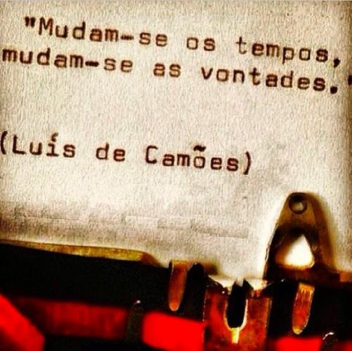 Mudam-se os Tempos Mudam-se as Vontades, Luiz Vaz de Camões