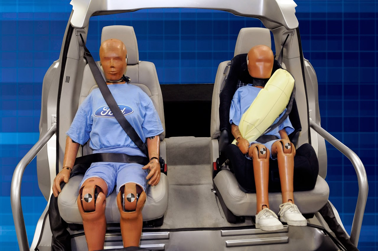 Ford Seeks Expanded Adoption of Inflatable Safety Belt