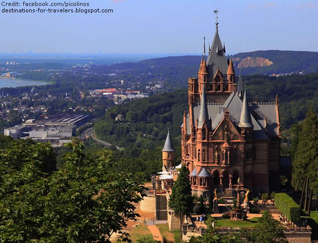 DRAGON CASTLE, DRACHENBURG, GERMANY