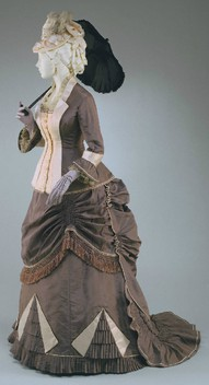 Women's fashion in 1870s