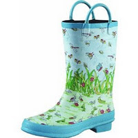 Norcross Safety Prod 63015-7 Childrens Bugs Rain Boot