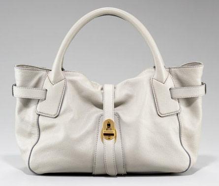 Luxusní Kabelky: Luxusní světle šedá kabelka Burberry
