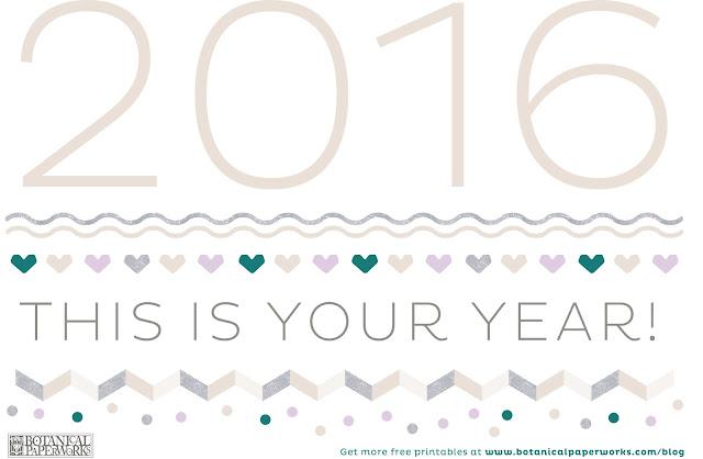 feliz 2016 - Blog fora de controle - calendário 2016
