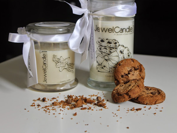 JewelCandle - Vanilla & Cookies & Cream.