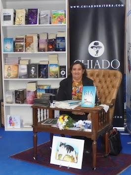 O livro Bia por um Triz na Feira do livro do Porto - 2017