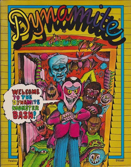 Garage Sale Finds: 1975 Dynamite No. 12 - Monster Bash Halloween Cover