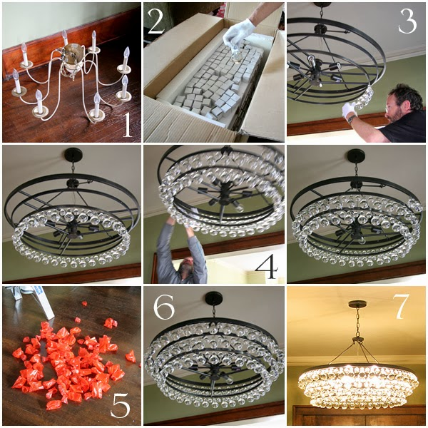 Nessy designs robert abbey bling chandelier aloadofball Choice Image