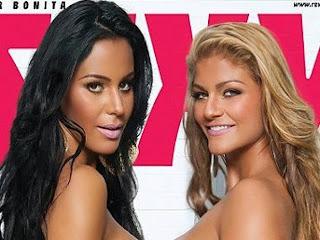 Capa da Revista Sexy - Julho 2012 - Sabrina Torres e Lorena Bueri