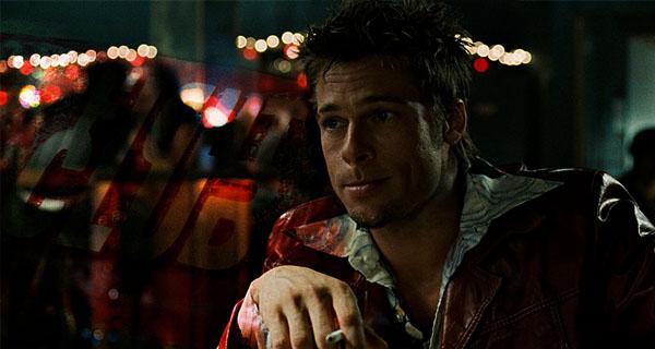 Brad Pitt el Club de la Lucha
