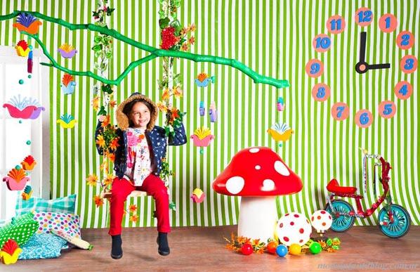 moda infantil otoño invierno 2014 abrigos