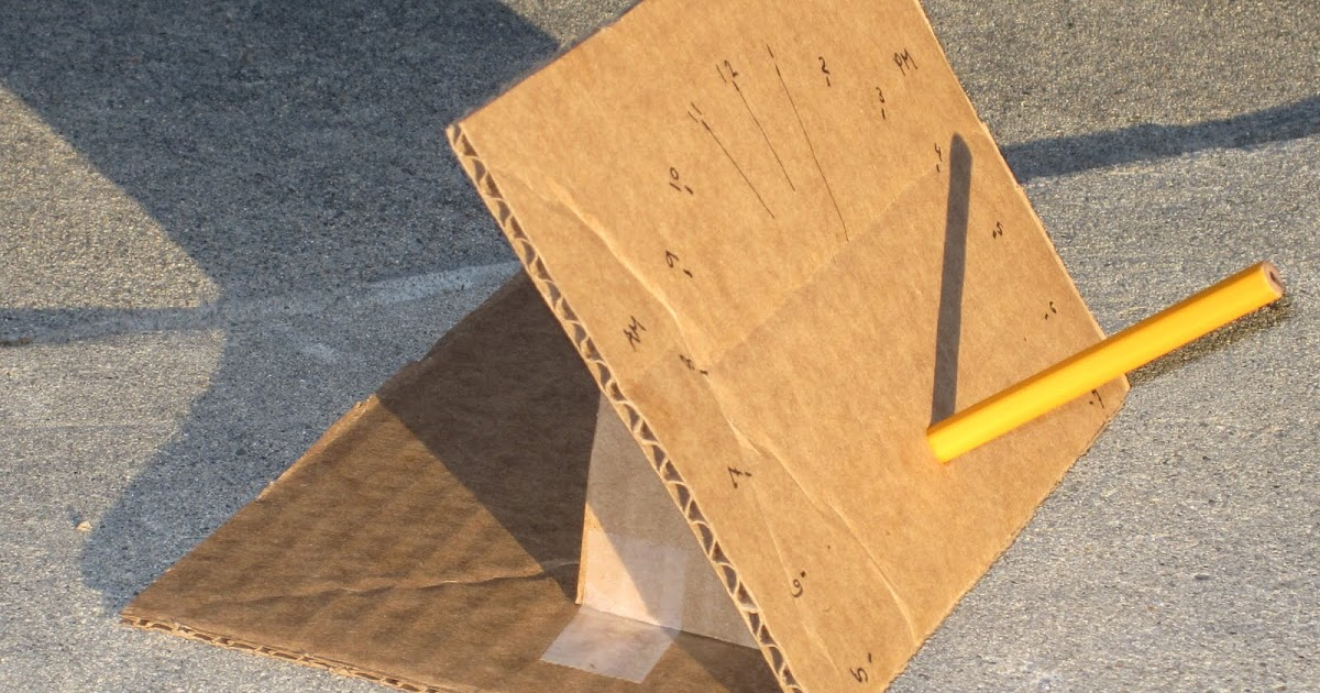 how to make an accurate sundial