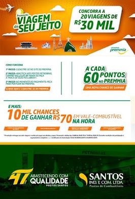 Santos Postos de Parnaíba sai na frente trazendo promoções