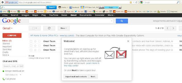 buat email baru