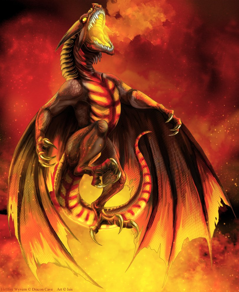 a dragons lair images gallery monster hellfire wyvern