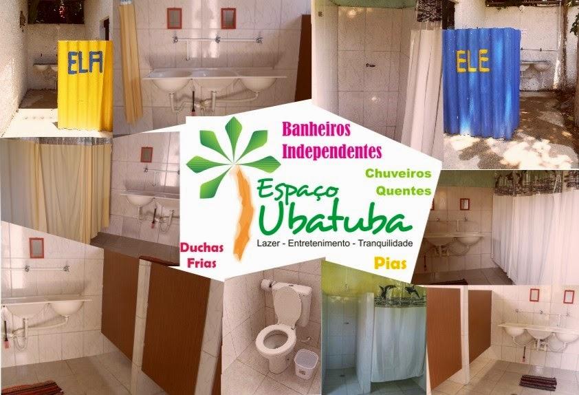 Espaço Ubatuba  Acampamento na praia  Eventos  Estacionamento Motor Home  -> Banheiro Feminino Translation