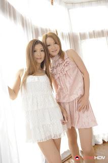 Hibiki Ohtsuki and Uta Kohaku