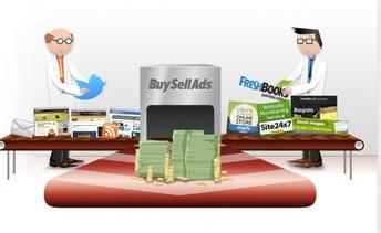 buysellads ad sales widget