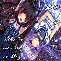 Reto 2015: Tu nombre en Blog