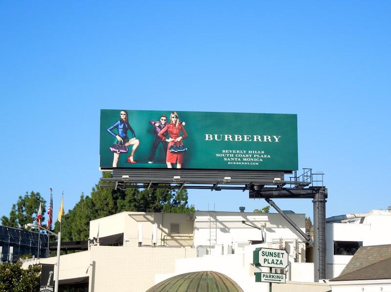 Burberry Romeo Beckham Spring 2013 billboard