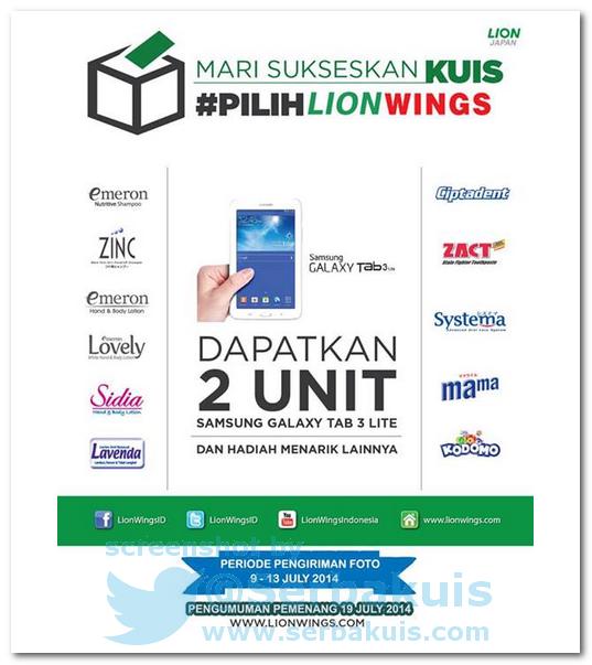 Kontes Foto Berhadiah Utama 2 SAMSUNG Galaxy Tab 3 Lite