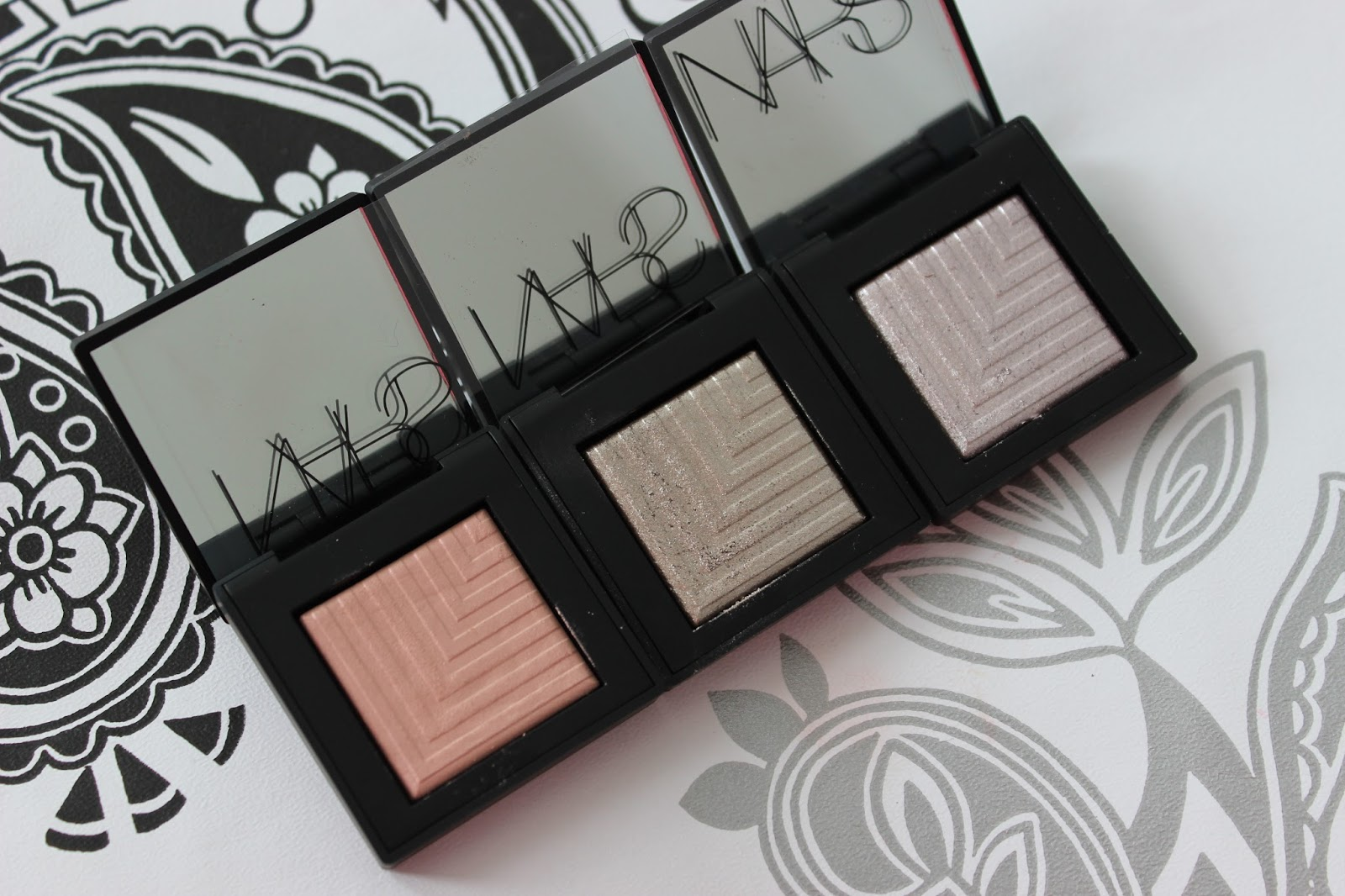 Nars dual intensity eye shadows