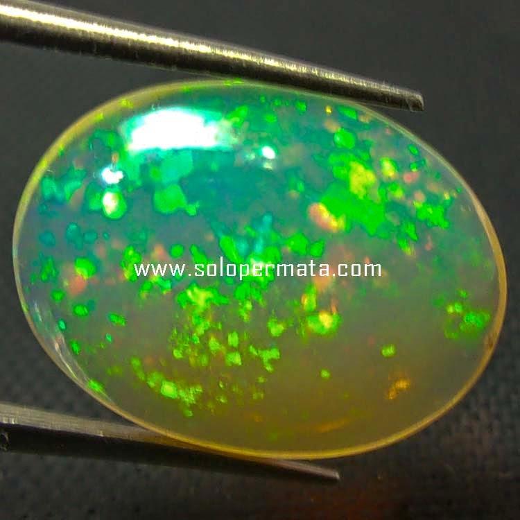 Batu Permata Opal Kalimaya Kembang Jarong - Sp052