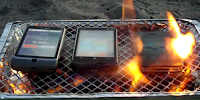 iPhone 4S Burn