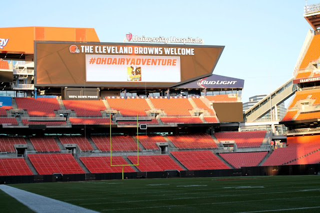 The ADA Mideast has been working closely with the Cleveland Browns on the Fuel Up to Play 60 program.