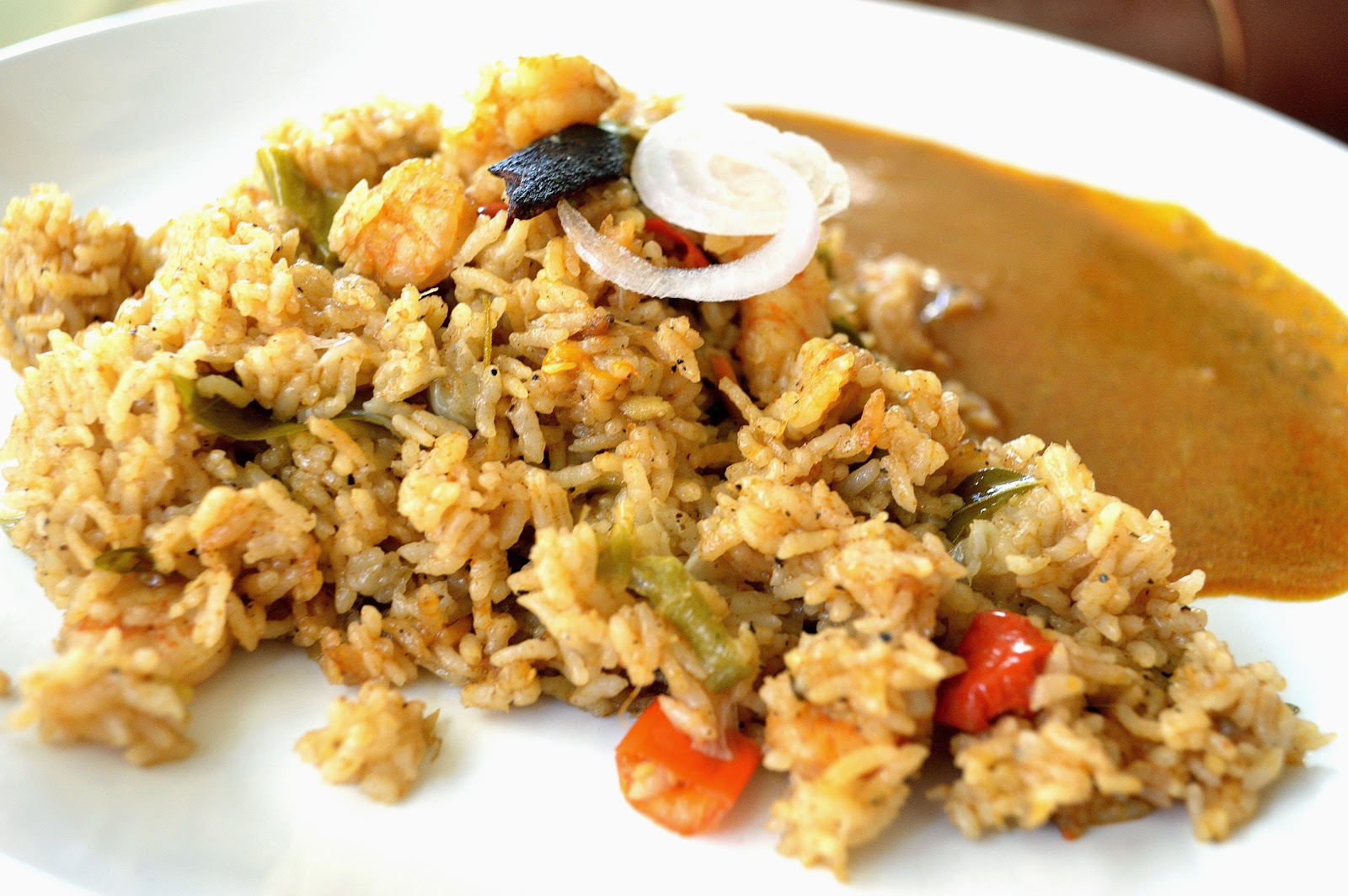 how to make prawn briyani