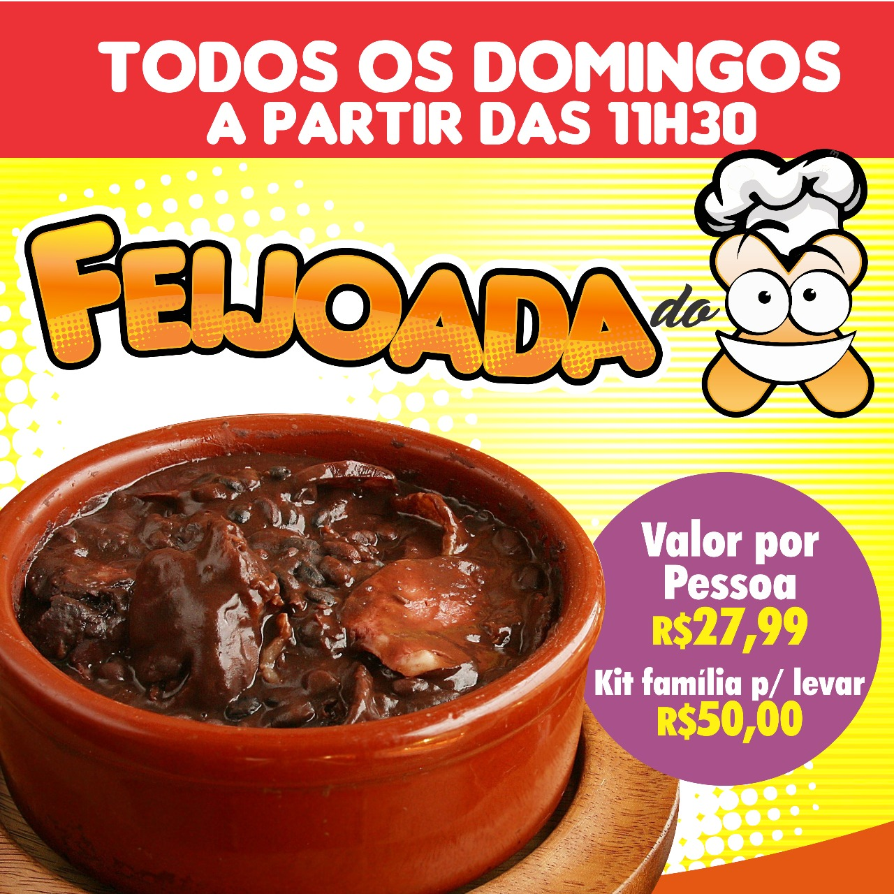 Feijoada do X!