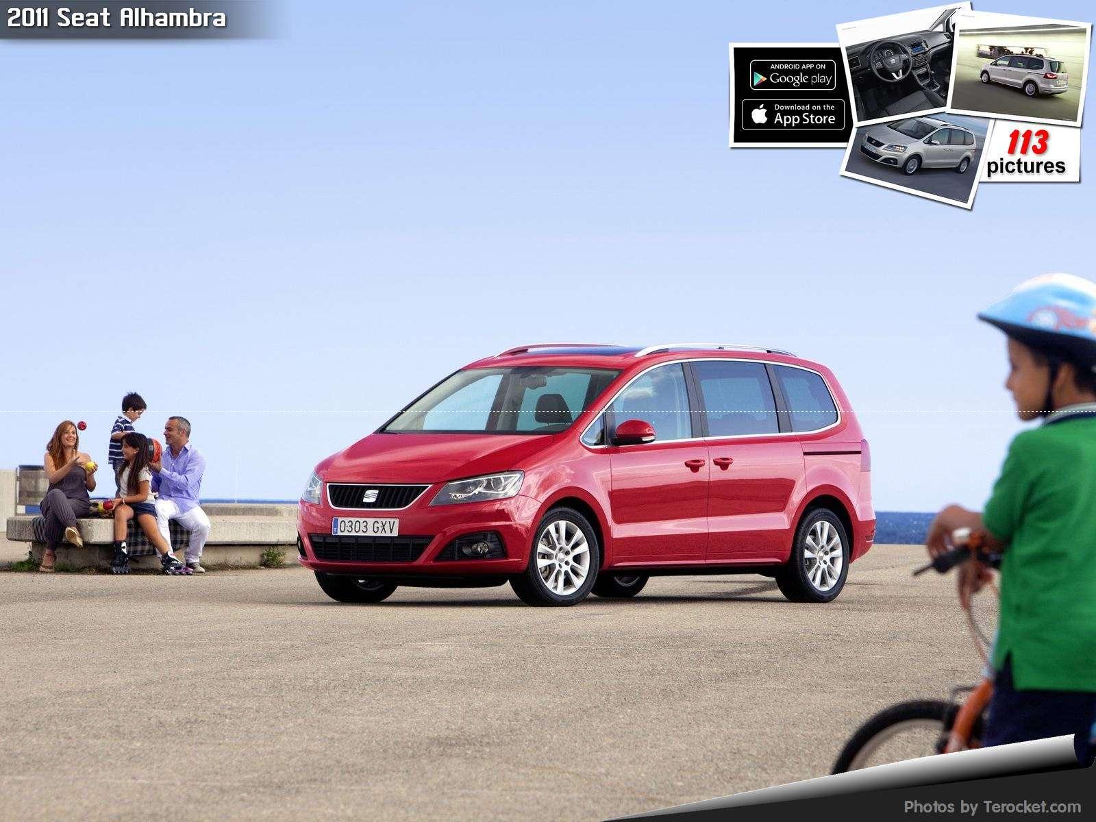 Hình ảnh xe ô tô Seat Alhambra 2011 & nội ngoại thất