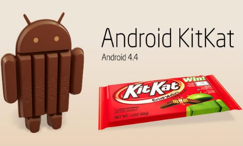 Update Android Kitkat