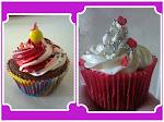 Cupcakes em 2 tamanhos: Mini e Grande