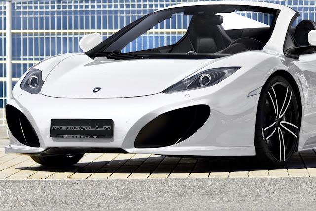 Gemballa Take the McLaren MP4-12C Spider to Tune Geneva Motor Show