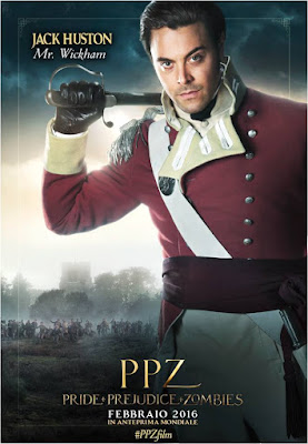 PPZ - Pride + Prejudice + Zombies (Jack Huston - Mr. Wickham)