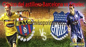 Barcelona vs emelec cl sico del astillero partido amistoso for A que hora juega el barcelona hoy