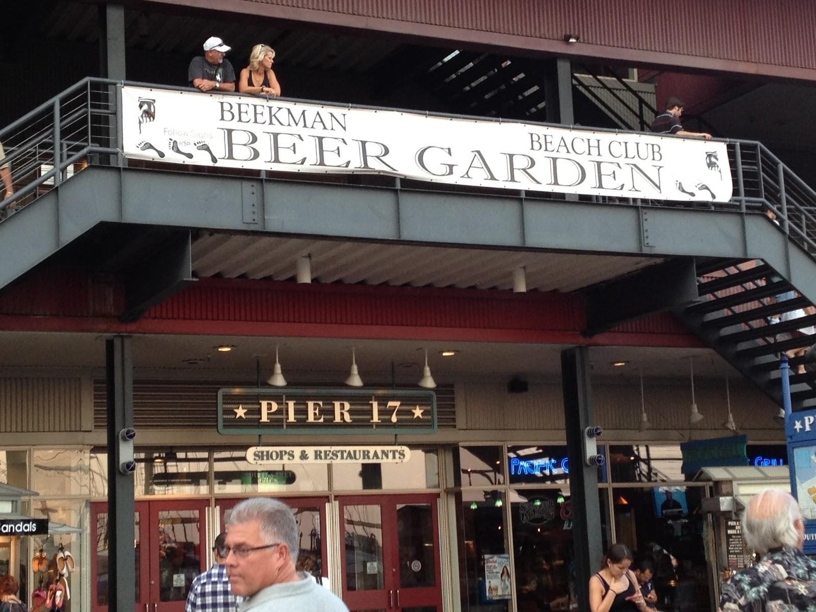 Tales Of The Traveling Teacher Beekman Beer Garden Beach Club
