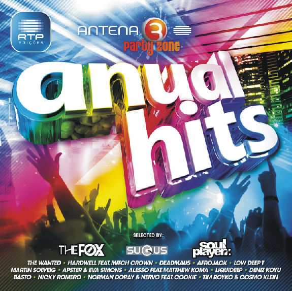 CD Anual Hits – Antena 3 Party Zone (2012)