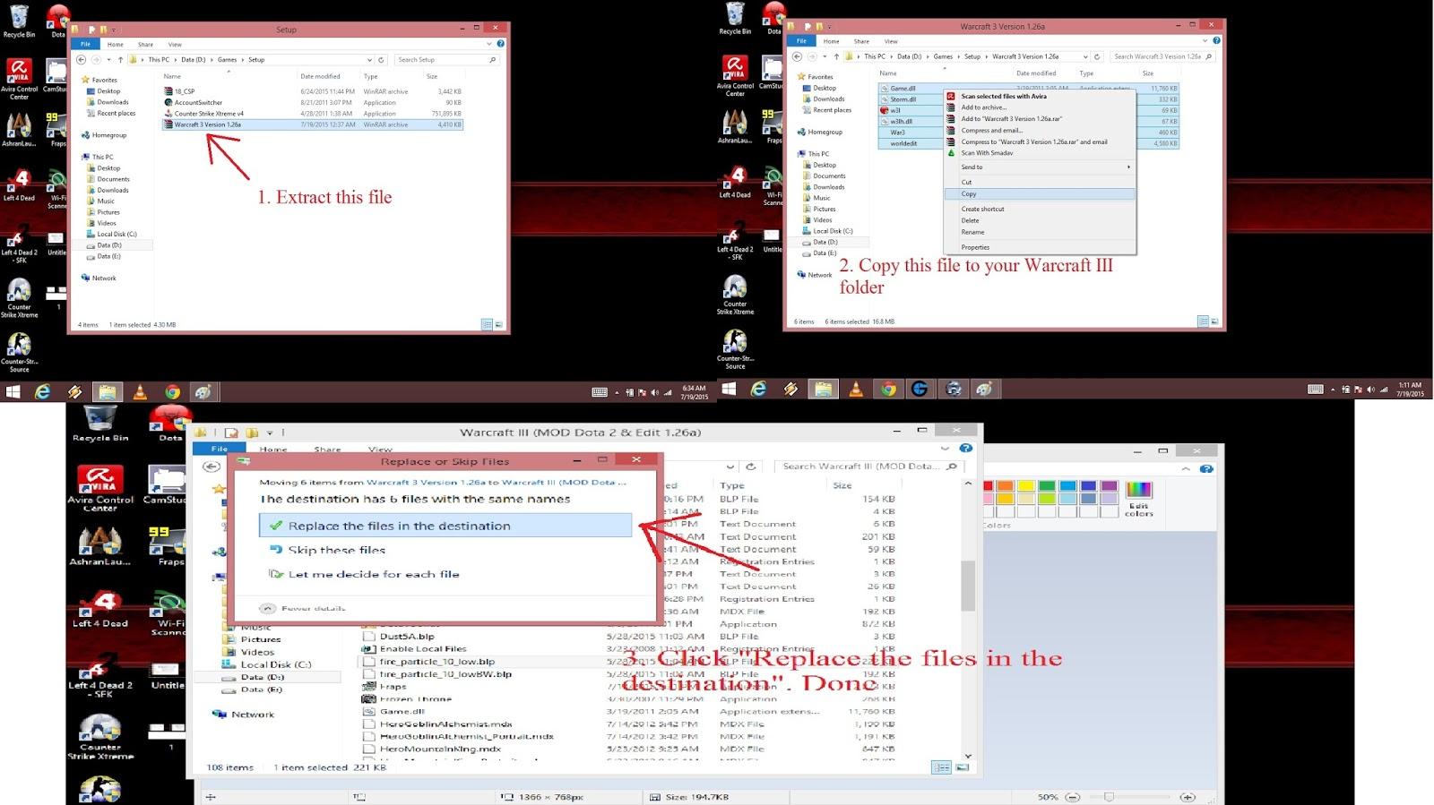 Скачать файл mss32 dll для warcraft 3