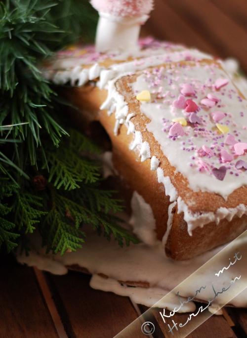 Weihnachtsbäckerei - Lebkuchenhäuschen