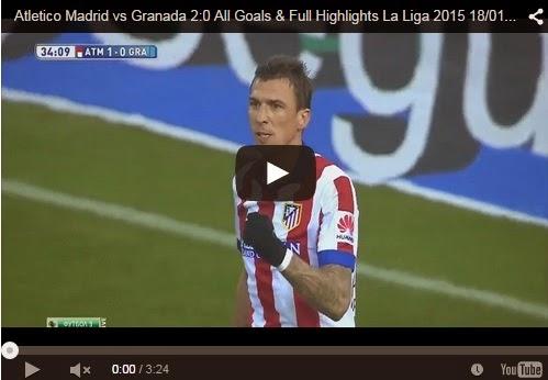 Highlights : Atletico Madrid 2-0 Granada