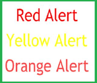 Emergency travel alert information