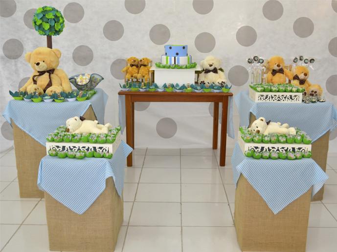 Festa Infantil   Tema Ursinho