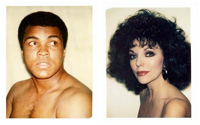 Muhammad Ali / Joan Collins