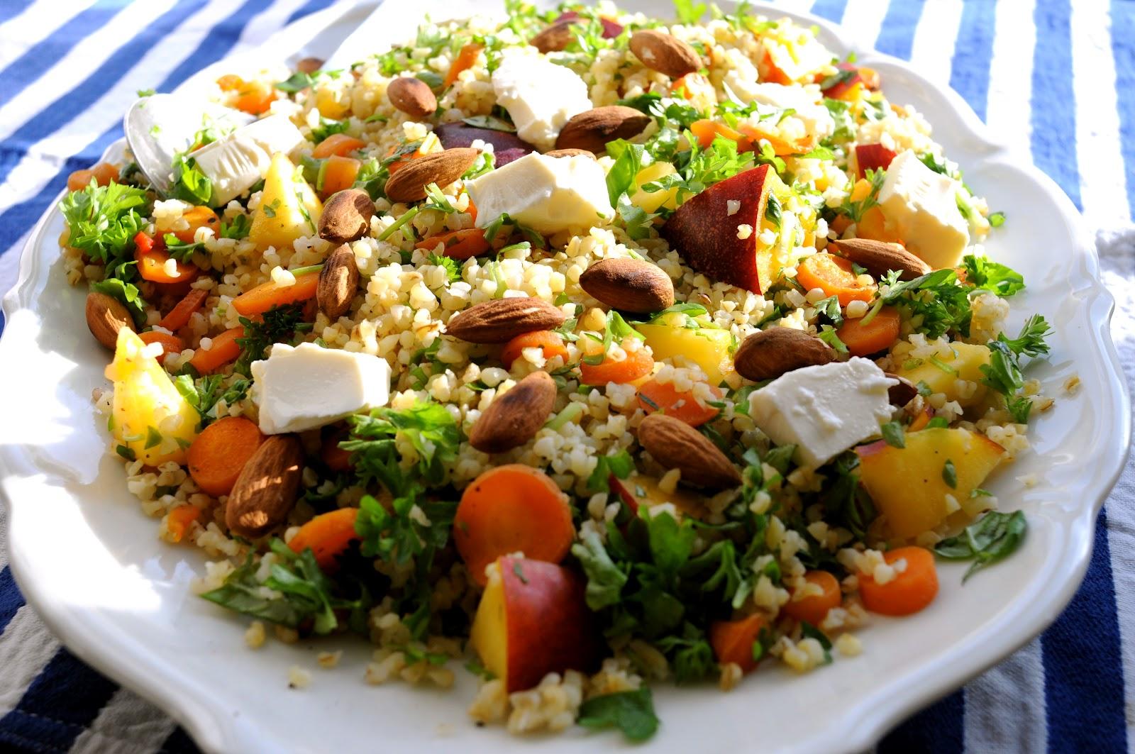 bulgur salat opskrift
