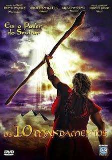 Desenho - Os 10 Mandamentos e Moisés Dublado